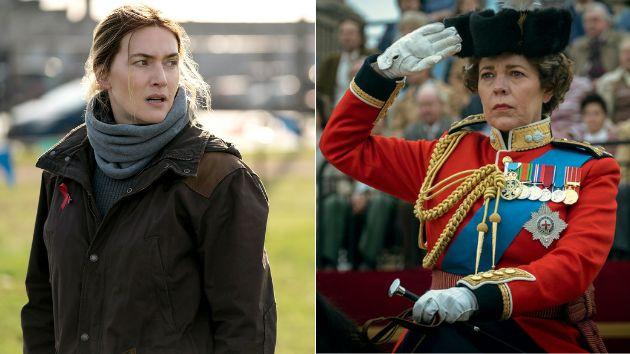 Kate Winslet en 'Mare of Easttown' y Olivia Colman en 'The