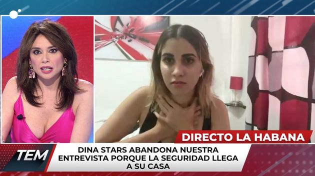 Marta Flich entrevista a la 'youtuber' cubana Dina