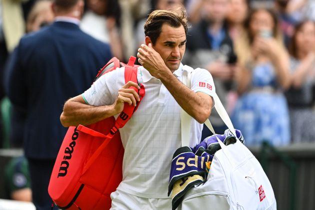 Federer renonce à son tour aux Jeux Olympiquyes(Photo prétexte de Roger Federer à...