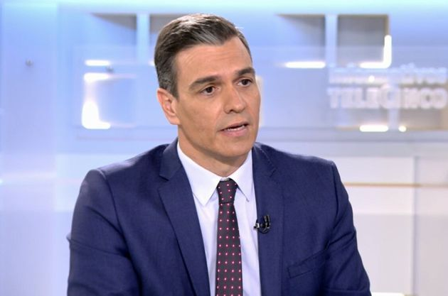 Pedro Sánchez, en 'Informativos