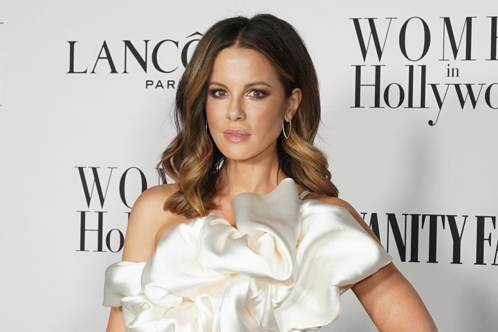 Kate Beckinsale attends the Vanity Fair and Lancôme Women in Hollywood celebrations at Soho House on February 6, 2020, i