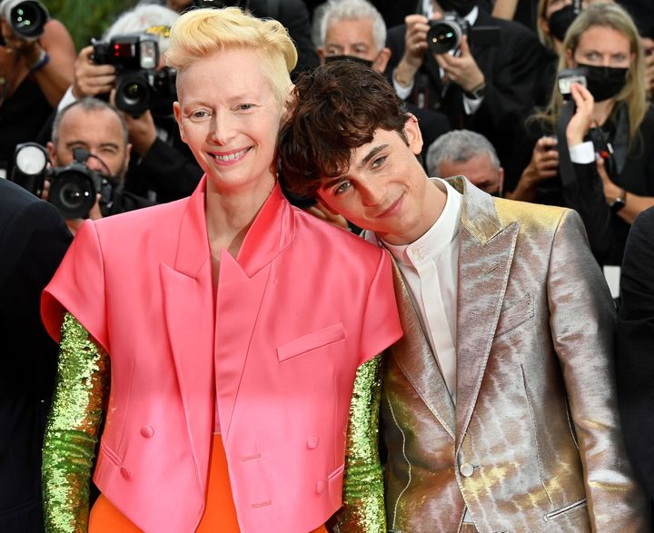 Tilda Swinton and Timothee Chalamet set the internet ablaze earlier this week by walking the red carpet together at the Cannes Film Festival.