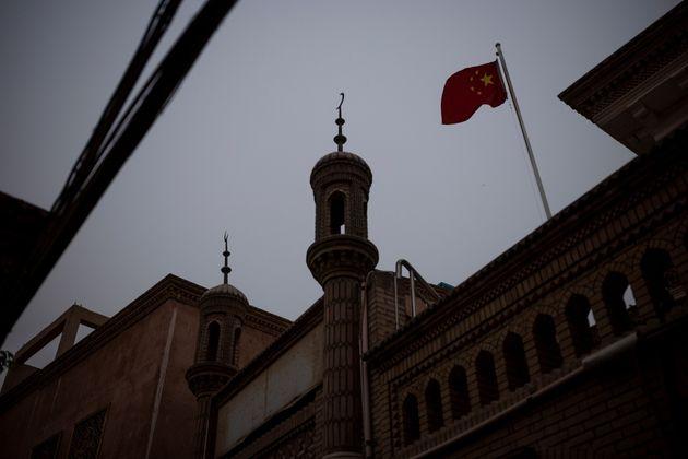 新疆ウイグル自治区・カシュガルのモスク(ロイター)