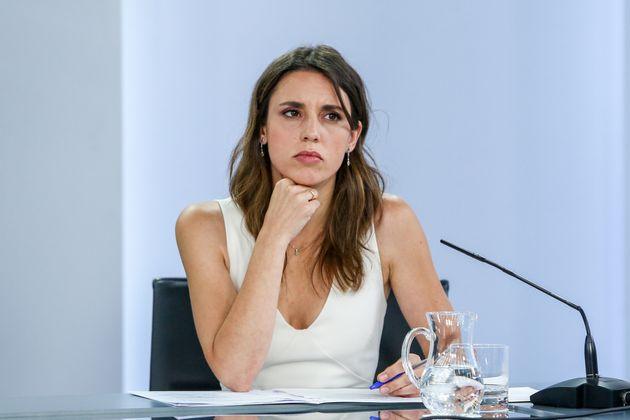 La ministra de Igualdad, Irene