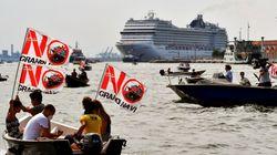 Italia prohíbe desde agosto el paso de cruceros frente a la ciudad de