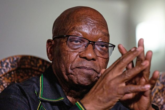 Jacob Zuma, retratado en su casa de Nkandla, el pasado 7 de