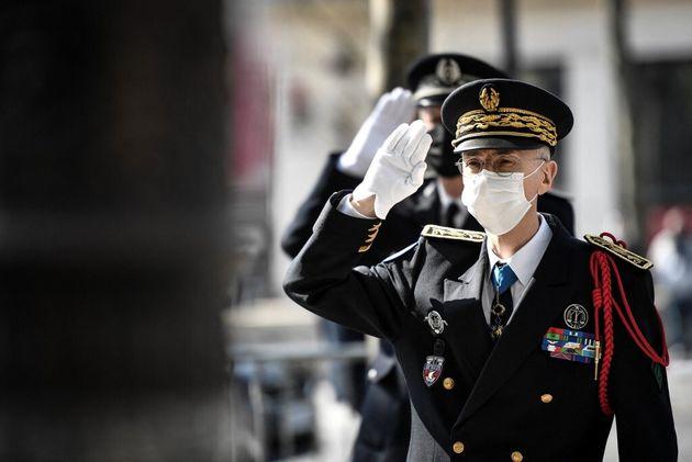 Le préfet de police de Paris Didier Lallement (ici lors d'un hommage à Xavier Jugelé, tué en 2017) fait...