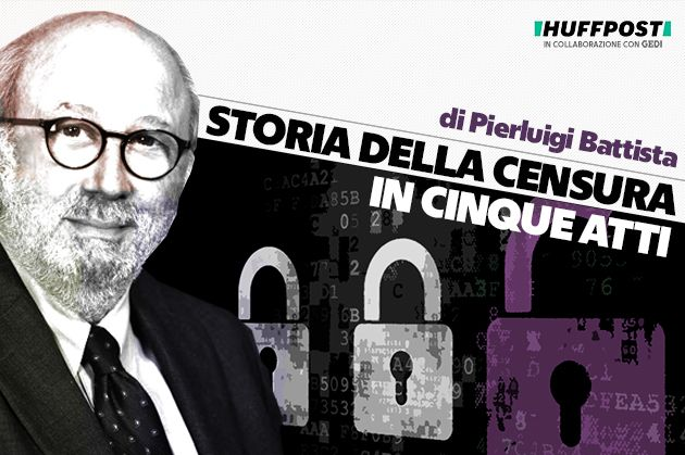 Cover del Podcast di Pierluigi Battista, Storia della censura in cinque