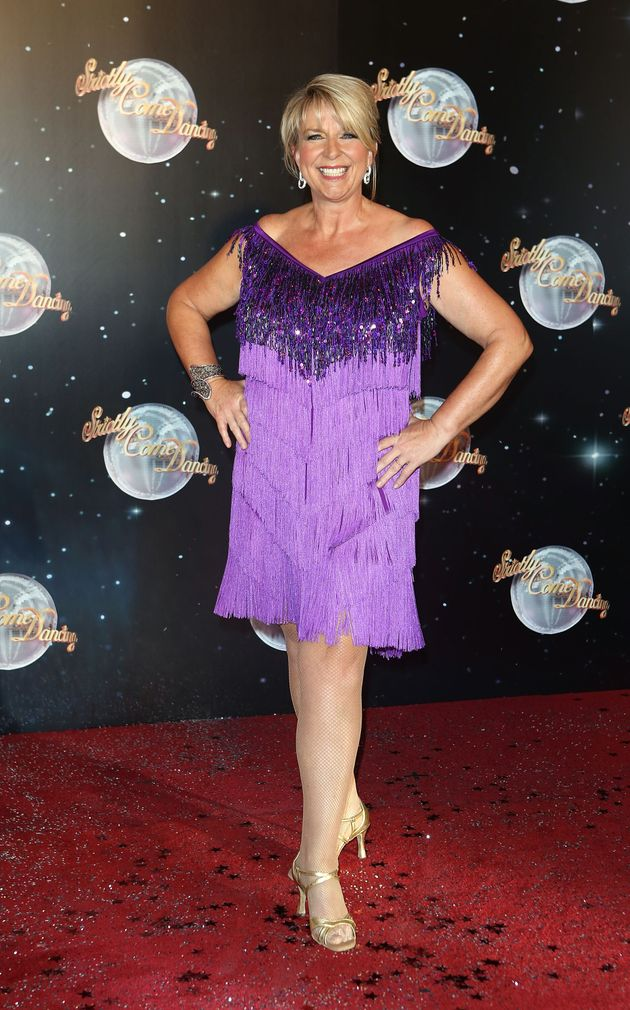 Fern at the Strictly launch in
