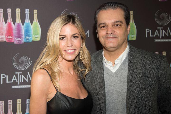 El presentador Ramón García y Patricia Cerezo, en un evento el 13 de diciembre de 2016.