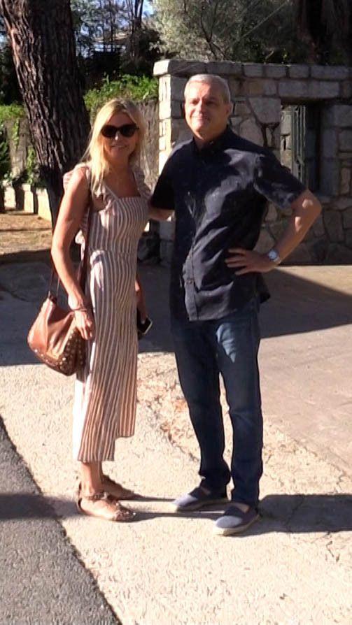 Ramón García y Patricia Cerezo en Madrid, el 14 Julio de 2021.