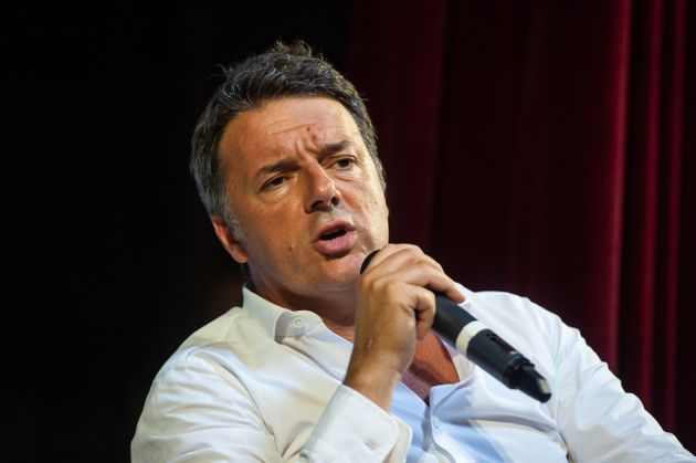 NAPLES, ITALY - JULY 12: Matteo Renzi leader of Italia Viva party during the presentation of his book