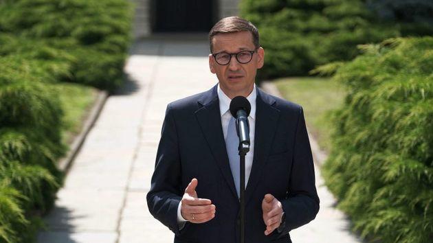 El primer ministro polaco, Mateusz