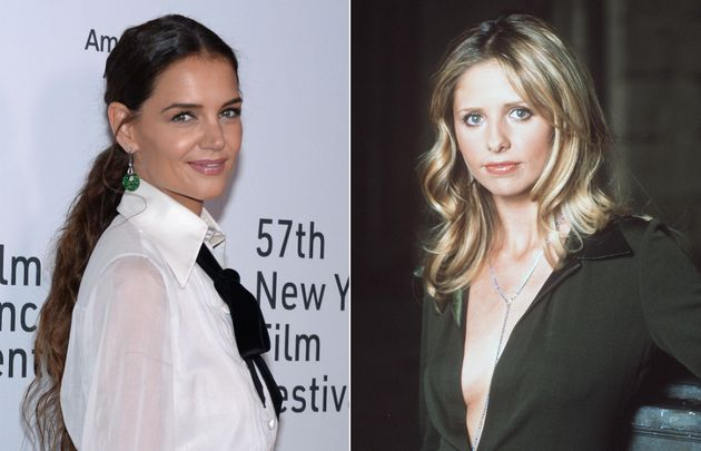 Katie Holmes and Sarah Michelle