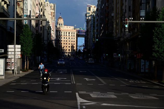 Madrid, el 8 de mayo de 2020, durante el primer