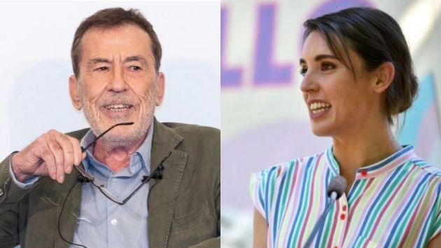 Fernando Sánchez Dragó and Irene