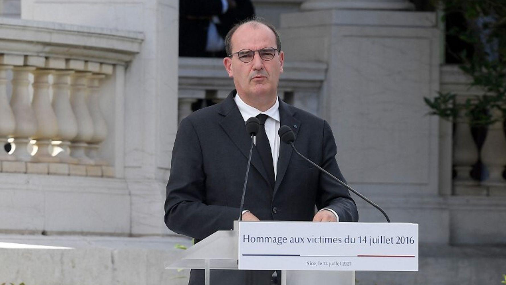 Nice: L'hommage de Castex aux victimes de l'attentat du 14-juillet