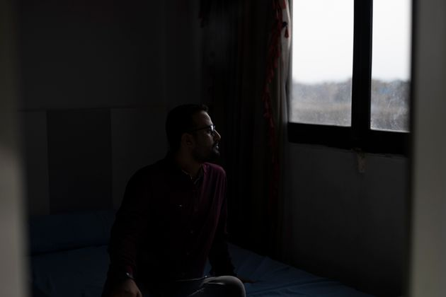"""""""It's a painful experience to leave your home against your will,"""" journalist Adel Al-Hasani told HuffPost."""