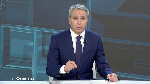 Vicente Vallés este miércoles en Antena