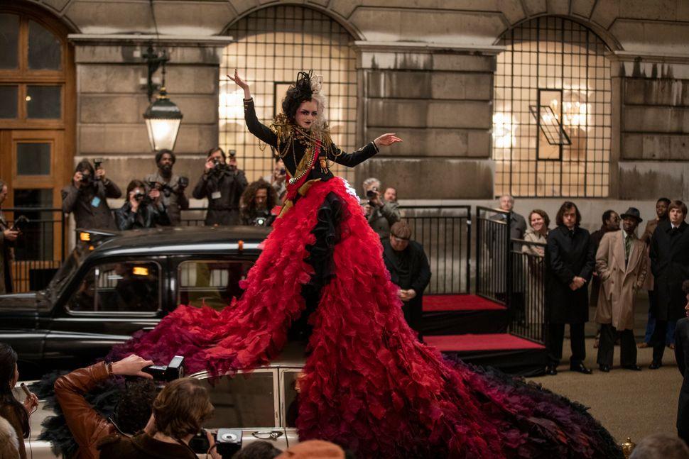 """Emma Stone in Disney's live-action """"Cruella."""""""