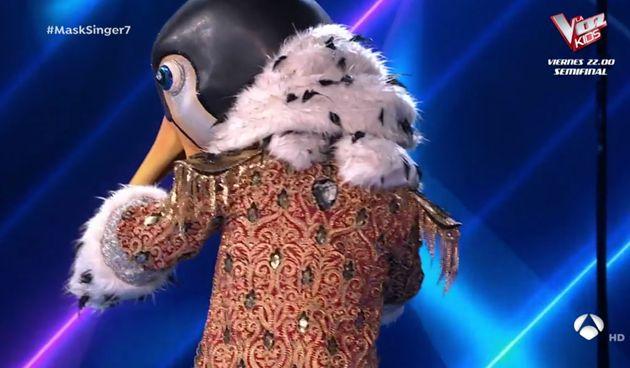 Pingüino, la máscara invitada en 'Mask