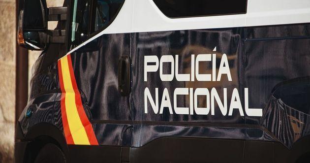 Imagen de un furgón de la Policía