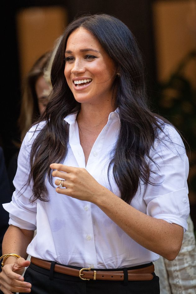 Meghan Markle pictured in