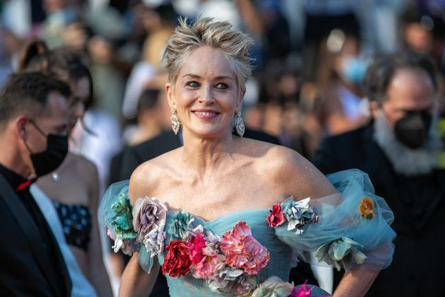 CANNES, FRANCE - JULY 14: Actress Sharon Stone attends the