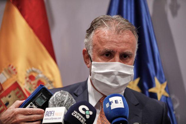 El presidente canario, Ángel Víctor Torres, en una foto de
