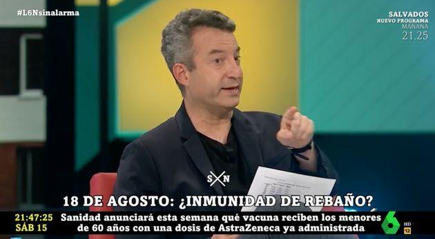 El doctor César Carballo en 'laSexta