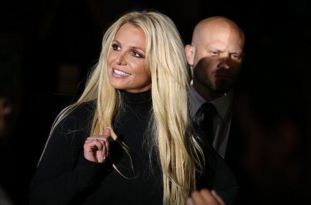 Britney Spears on October 18, 2018 in Las Vegas,