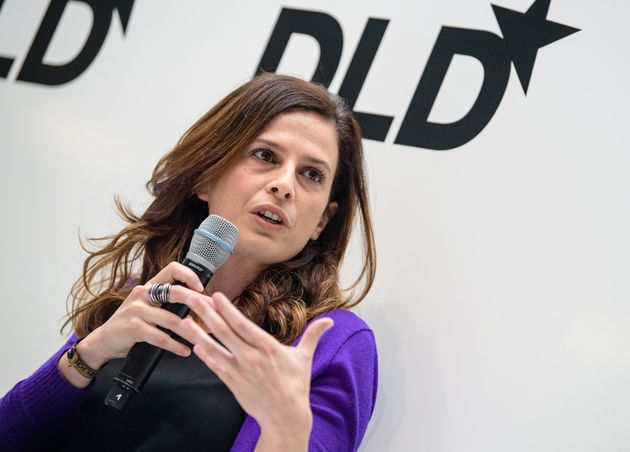 Francesca Bria, chief technology and digital innovation officer for Barcelona City Council, speaking...