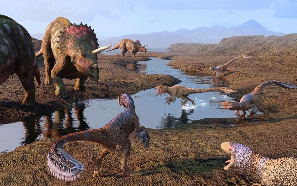 Οι δεινόσαυροι ήταν πιθανότατα καταδικασμένοι να εξαφανιστούν πριν από το χτύπημα του