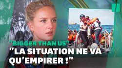 À 24 ans, elle secourt des migrants en Méditerranée et dénonce ceux qui