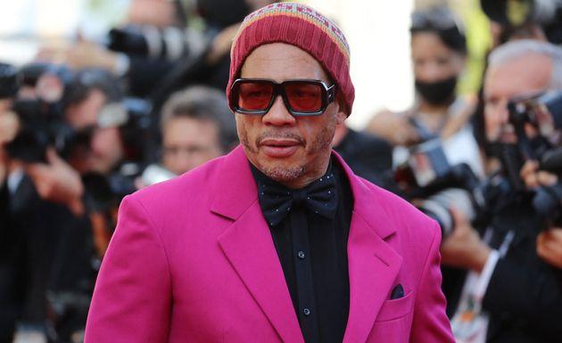 Joey Starr, ici sur le tapis rouge du Festival de Cannes, pour la projection du film