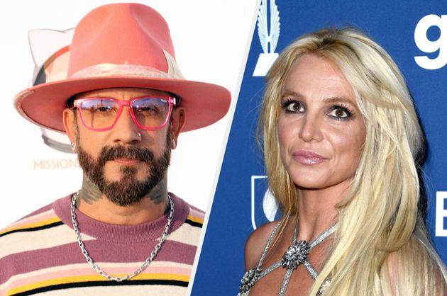 AJ McLean and Britney