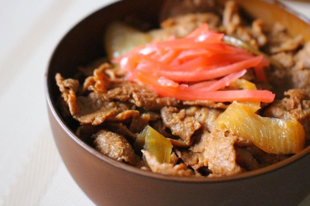 代替肉のプラントベース「NEXT牛丼」(提供:ネクストミーツ株式会社)