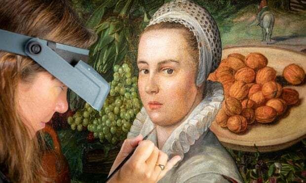 Συντηρητές έργων τέχνης επιτέλους έσβησαν το χαμόγελο από το πρόσωπο νεαρής Ολλανδέζας σε πίνακα