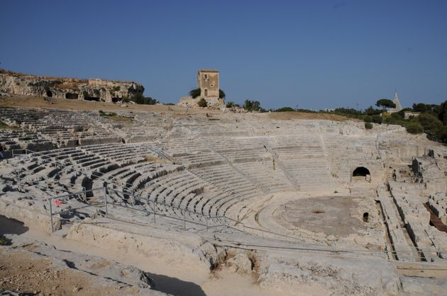 View of Greek Theatre of