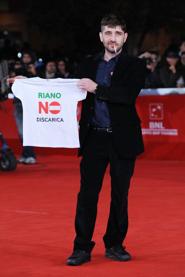 ROME, ITALY - NOVEMBER 02: Actor Libero De Rienzo attends the
