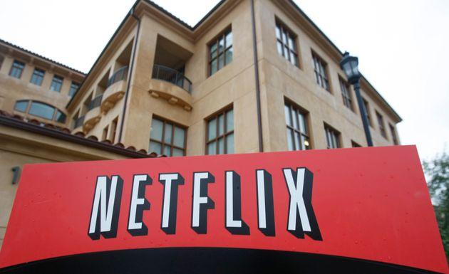 Tο λογότυπο του Netflix στα...
