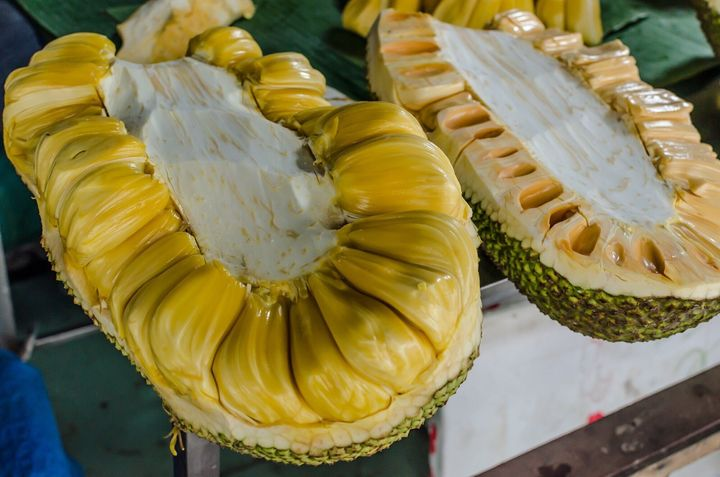 This raw jackfruit can turn into something that looks just like pulled pork.
