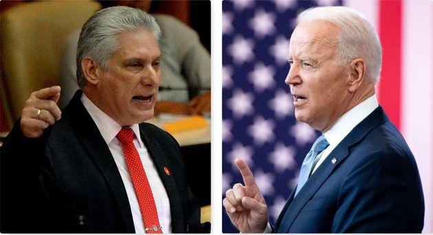 Diaz Canel/Biden