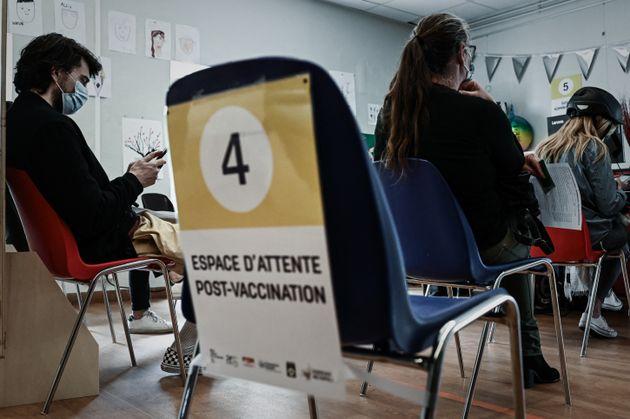 Photo d'illustration prise dans un centre de vaccination Covid-19à