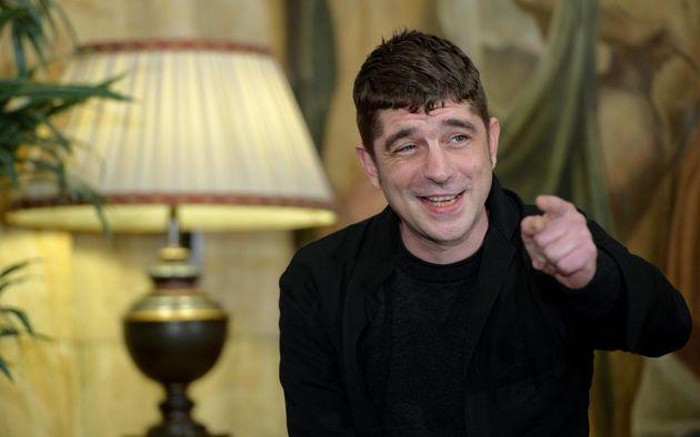 L'attore Libero De Rienzo durante il photocall del film