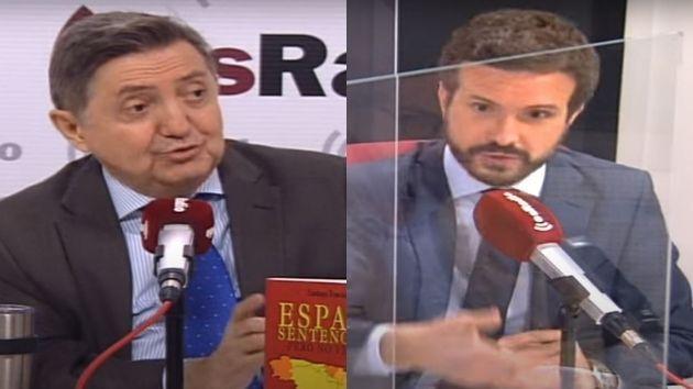 Federico Jiménez Losantos y Pablo