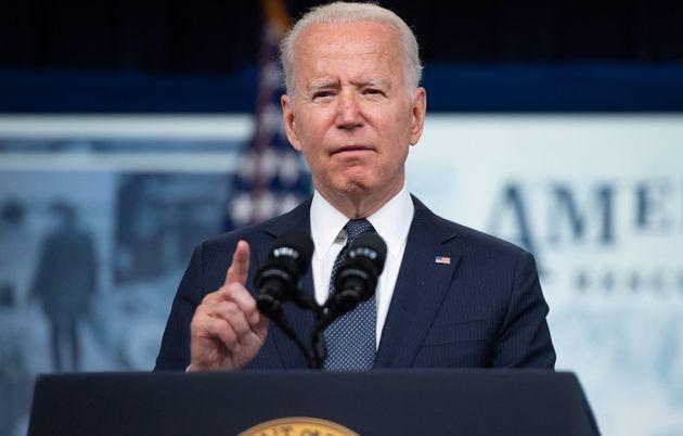 Joe Biden, ici lors d'une conférence à Washington, a accusé Facebook de