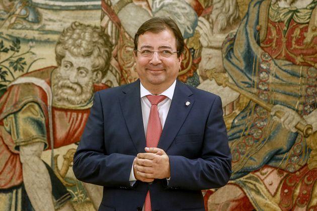 El presidente extremeño, Guillermo Fernández Vara, en una foto de
