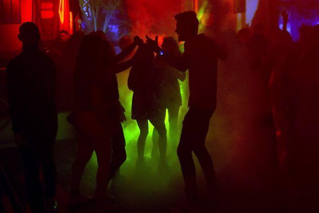 Photo d'illustration prise dans une discothèque de Saint-Jean-de-Monts, le 10 juillet