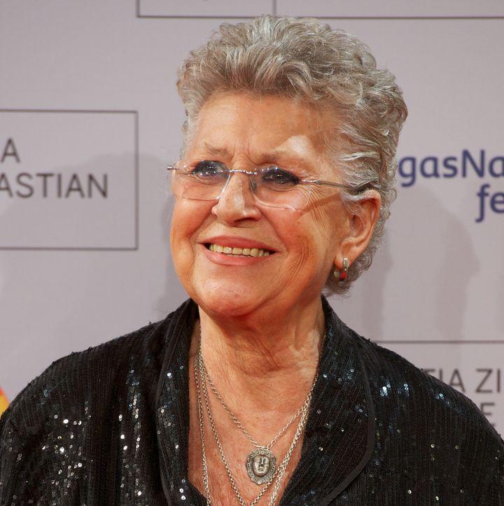 Pilar Bardem, en el estreno de 'Volver A Nacer' en el Festival de San Sebastián en septiembre de 2012.